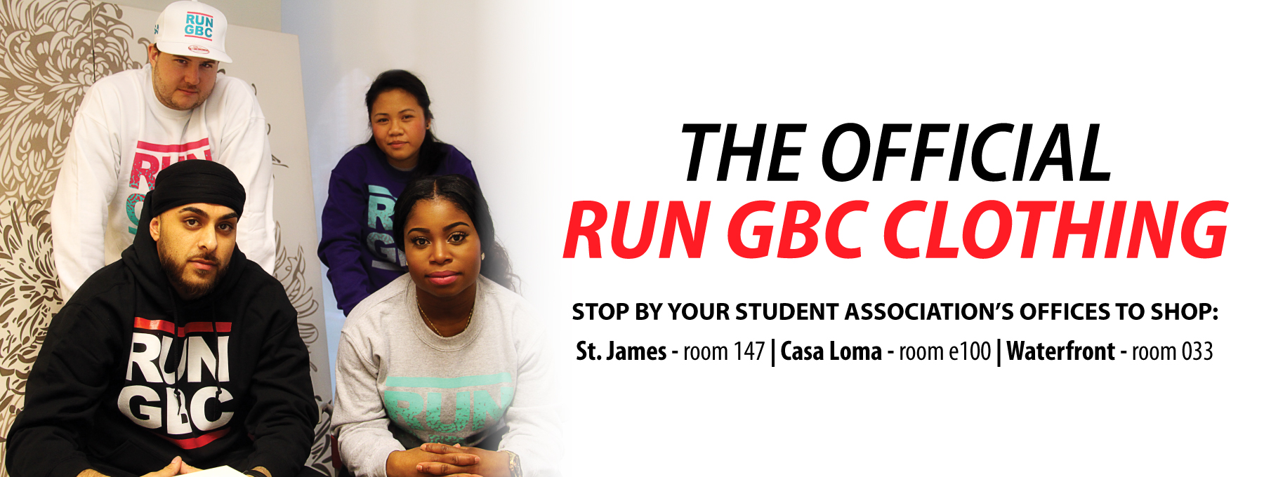 Picture of Ad for SA RUN GBC Clothing Line