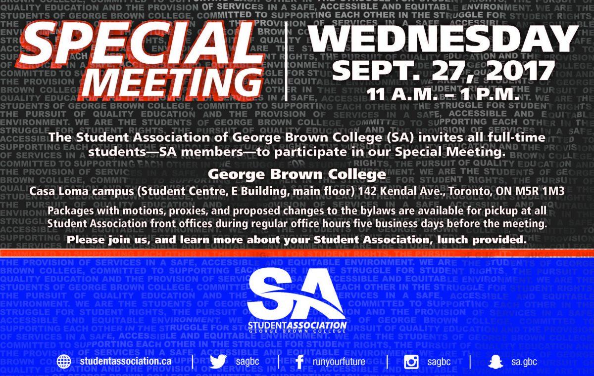 special meeting of members